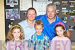 Shauna, Paula, Robert, John and Aoife Courtney having fun at the Listry Gathering on Sunday