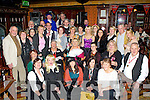 Bernice Barrett, Millstreet seated centre who celebrated her 30th birthday with her friends and family in the Killarney Avenue Hotel on Saturday night..