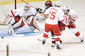 Charlie Effinger, Stephen Dennis, Benn Ferreiro, Kevin Roeder - The Boston College Eagles defeated the Miami University Redhawks 5-0 in their Northeast Regional Semi-Final matchup on Friday, March 24, 2006, at the DCU Center in Worcester, MA.