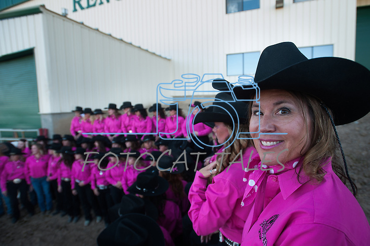 during the Reno Rodeo on Friday, June 27, 2014.<br /> (Photo By Kevin Clifford)