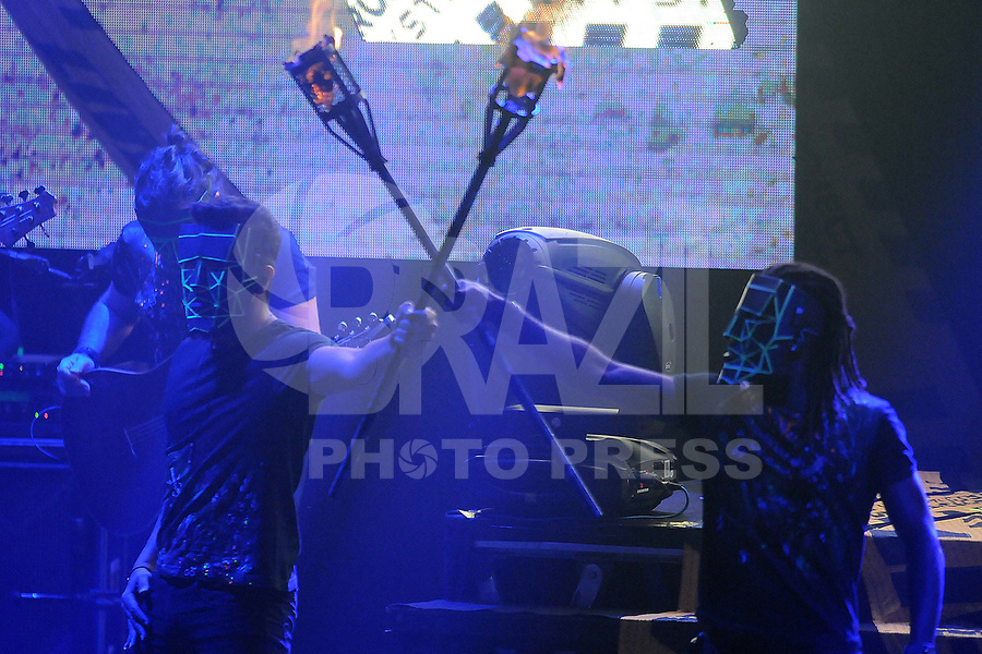 SÃO PAULO,SP, 27.12.2018 - SHOW-SP - Luan Santana durante apresentação no teatro Bradesco, no bairro da Água Branca na região oeste da cidade de São Paulo, nesta quinta-feira, 27. (Foto: Dorival Rosa/Brazil Photo Press)