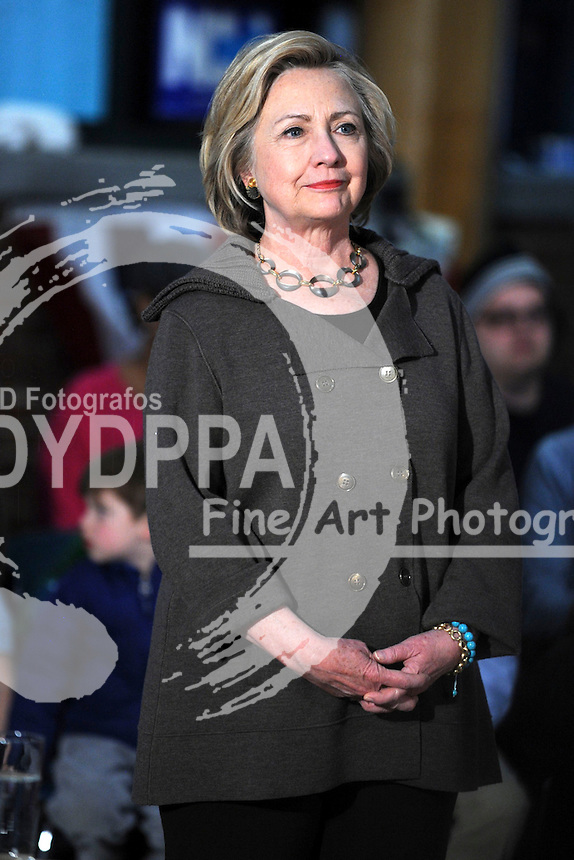 Hillary Clinton, former Secretary of State and 2016 Democratic presidential candidate, speaks during a town hall meeting at Keene High School in Keene, New Hampshire, U.S., on Sunday, Jan. 3, 2016