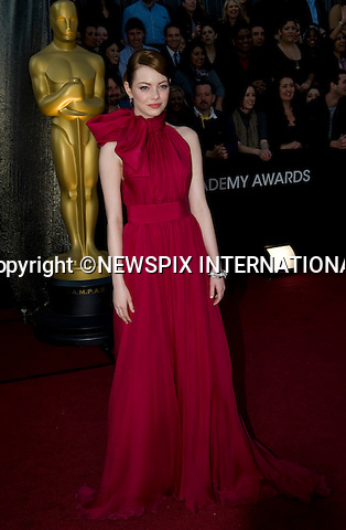 """OSCARS 2012.84th Academy Awards arrivals, Kodak Theatre, Hollywood, Los Angeles_26/02/2012.Mandatory Photo Credit: ©Dias/Newspix International..**ALL FEES PAYABLE TO: """"NEWSPIX INTERNATIONAL""""**..PHOTO CREDIT MANDATORY!!: NEWSPIX INTERNATIONAL(Failure to credit will incur a surcharge of 100% of reproduction fees)..IMMEDIATE CONFIRMATION OF USAGE REQUIRED:.Newspix International, 31 Chinnery Hill, Bishop's Stortford, ENGLAND CM23 3PS.Tel:+441279 324672  ; Fax: +441279656877.Mobile:  0777568 1153.e-mail: info@newspixinternational.co.uk"""