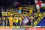 League LNFS 2015/2016.<br /> Primer partido 1/2 Play-Off Titulo.<br /> FC Barcelona Lassa vs Magna Gurpea: 3-0.