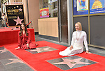 Irina Menzel, Kristen Bell -Star WofF 031 ,  Kristen Bell And Idina Menzel  Honored With Stars On The Hollywood Walk Of Fame on November 19, 2019 in Hollywood, California
