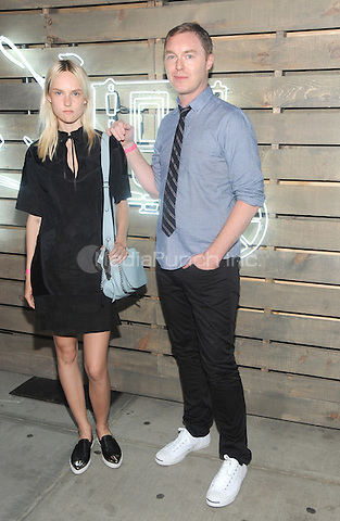 New York, NY- June 17:  Harleth Kuusik and Coach Creative Director Stuart Vevers attends the 2014 Summer Party presented by Coach at friends of the Highline at the  Highline on June 17, 2014 in New York City .Credit: John Palmer/MediaPunch