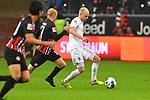 06.10.2019, Commerzbankarena, Frankfurt, GER, 1. FBL, Eintracht Frankfurt vs. SV Werder Bremen, <br /> <br /> DFL REGULATIONS PROHIBIT ANY USE OF PHOTOGRAPHS AS IMAGE SEQUENCES AND/OR QUASI-VIDEO.<br /> <br /> im Bild: Davy Klaassen (SV Werder Bremen #30) gegen Sebastian Rode (Eintracht Frankfurt #17)<br /> <br /> Foto © nordphoto / Fabisch