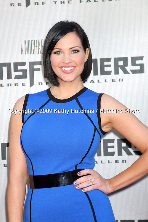 """Tiffany Fallon  arriving at the """"Transformers: Revenge of the Fallen"""" Premiere at the Mann's Village Theater in Westwood, CA  on June 22, 2009.  .©2009 Kathy Hutchins / Hutchins Photo"""