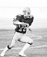 Mike McLeod Edmonton Eskimos 1980. Photo Mike Ridewood