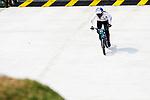 Sae Hatakeyama (JPN), <br /> AUGUST 25, 2018 - Cycling - BMX : <br /> Women's BMX Race Seeding Run <br /> at Pulo Mas International BMX Center <br /> during the 2018 Jakarta Palembang Asian Games <br /> in Jakarta, Indonesia. <br /> (Photo by Naoki Morita/AFLO SPORT)