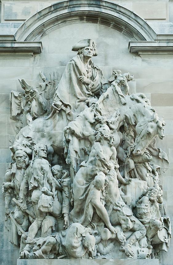 Battle of Princeton Memorial, Princeton, New Jersey