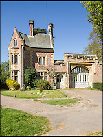 BNPS.co.uk (01202 558833)<br /> Pic: Strutt&amp;Parker/BNPS<br /> <br /> Impressive Gate House.<br /> <br /> Be Lord of your own Manor...DIY skills essential.<br /> <br /> A grand country mansion that has been in the same family for 146 years is on the market - but you'll need deep pockets to become lord of this manor.<br /> <br /> The striking Grade II listed Victorian house, which sits beside an impressive lake and is surrounded by picturesque parkland, is being sold by Strutt &amp; Parker with a &pound;7.2million price tag.<br /> <br /> And while you get a lot for your money - with five cottages, outbuildings and 277 acres included in the sale - the main house is now in need of investment to restore it to glory and bring it up to date with all the mod cons expected in a home.
