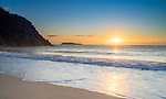 Sunrise from Zenith Beach, Port Stephens, NSW, Australia