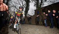 E3 Prijs Harelbeke.Tom Boonen (BEL) on 'his' Taaienberg