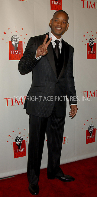 WWW.ACEPIXS.COM . . . . . ....NEW YORK, MAY 8, 2006....Will Smith at Time Magazine's 100 Most Influential People 2006.....Please byline: KRISTIN CALLAHAN - ACEPIXS.COM.. . . . . . ..Ace Pictures, Inc:  ..(212) 243-8787 or (646) 679 0430..e-mail: picturedesk@acepixs.com..web: http://www.acepixs.com