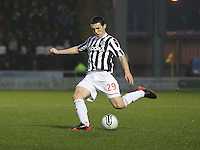 John McGinn in the St Mirren v Kilmarnock Clydesdale Bank Scottish Premier League match played at St Mirren Park, Paisley on 2.1.13.