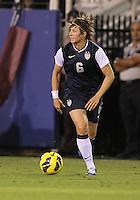 BOCA RATON, FL - DECEMBER 15, 2012: Amy LePeilbet (6) of the USA WNT o during an international friendly match against China at FAU Stadium, in Boca Raton, Florida, on Saturday, December 15, 2012. USA won 4-1.