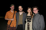 Opening Night of Ken Ludwig's The Three Musketeers, an epic adventure at Pennsylvania Shakespeare Festival on July 14, 2017 starring Dan Hodge, Alexander Sovronsky, Stephanie Hodge, Kameron Maxwell (Photo by Sue Coflin/Max Photos)
