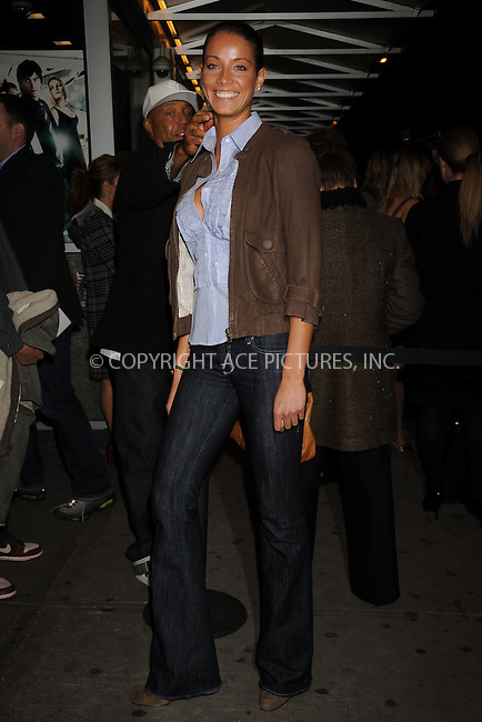 WWW.ACEPIXS.COM . . . . .....March 26, 2008. New York City.....Porchla Coleman attends the '21' screening hosted by Cinema Society and Calvin Klein Jeans at the IFC Center in New York City...  ....Please byline: Kristin Callahan - ACEPIXS.COM..... *** ***..Ace Pictures, Inc:  ..Philip Vaughan (646) 769 0430..e-mail: info@acepixs.com..web: http://www.acepixs.com