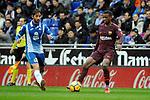 League Santander 2017-2018 - Game: 22.<br /> RCD Espanyol vs FC Barcelona: 1-1.<br /> Esteban Granero vs Semedo.