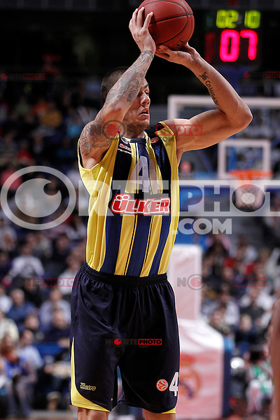 Fenerbahce Ulker Istanbul's Ilkan Karaman during Euroleague 2012/2013 match.November 30,2012. (ALTERPHOTOS/Acero) /NortePhoto ©/NortePhoto /NortePhoto© /NortePhoto /NortePhoto