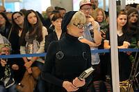 Schauspielerin Ingrid Steeger am Stand von Bastei/Lübbe