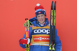 Cross Country Ski World Cup 2018 FIS in Dobbiaco, Toblach, on December 17, 2017; Men 15 km Pursuit Classic; Johannes Hoesflot Klaebo (NOR)