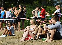 Zuschauer am Badesee Walldorf - Mörfelden-Walldorf 15.07.2018: 10. MöWathlon