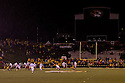 08 October 2009: The Missouri jumbo screenwasn't working after the power outage before the game against Nebraska at at Memorial Stadium, Columbia, Missouri. Nebraska defeated Missouri 27 to 12.