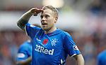 11.11.18 Rangers v Motherwell: Scott Arfield celebrates