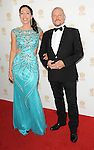 Herve Renoh and date arriving at the 'Huading Film Awards' held at The Montalban Theater Los Angeles, CA. June 1, 2014.