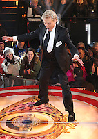 Lionel Blair at Celebrity Big Brother 2014 - Contestants Enter The House, Borehamwood. 03/01/2014 Picture by: Henry Harris / Featureflash