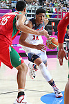 06.09.2014. Barcelona, Spain. 2014 FIBA Basketball World Cup, round of 16. Picture show A. Davis   in action during game between  Mexico v Usa  at Palau St. Jordi
