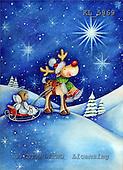 Interlitho, CHRISTMAS ANIMALS, paintings,+reindeer,++++,reindeer,angel,KL5969,#xa# Weihnachten, Navidad, illustrations, pinturas