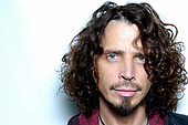 Chris Cornell (Jul 20, 1964 - May 17, 2017) -  photographed  backstage at The Riiviera Theatre in Chicago, Illinois USA - .<br /> April 19, 2009.  Photo credit:  Gene Ambo/IconicPix