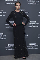 "Astrid eika attends the gala night for official presentation of the Presentation of the Pirelli Calendar 2019 ""The cal"" held at the Hangar Bicocca. Milan (Italy) on december 5, 2018. Credit: Action Press/MediaPunch ***FOR USA ONLY***"