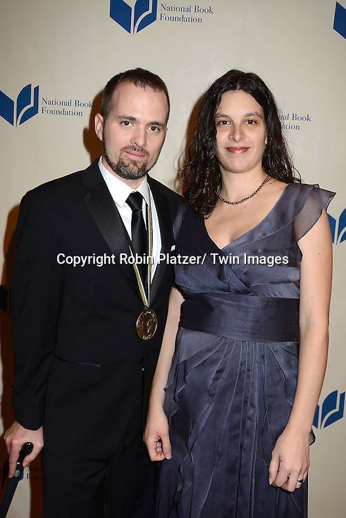 William Alexander and wife attends the 2012 National Book Awards Dinner and Ceremony on November 14, 2012 at Cipriani Wall Street in New York City.