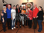 Ollie Thompson, Elaine Thornton, Sarah Thompson and Tricia Johnson organisers of the Jillian Thornton Memorial darts tournament present €1300 raised to the Drogheda branch of the Special Olympics. Photo:Colin Bell/pressphotos.ie