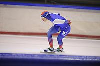 SCHAATSEN: HEERENVEEN: 18-09-2014, IJsstadion Thialf, Topsporttraining, Shane Williamson (JPN), ©foto Martin de Jong