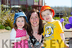 Enjoying the BALLYSEEDY Garden Centre Fun Weekend in aid of Downs Syndrome on Saturday were Jake, Mary and Lilly Barrett from Tralee