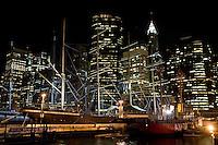 New York, Usa, Giugno 2007. La City di notte.
