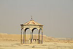 A deserted Chapel in Qasr al Yahud by the Jordan River where Jesus was baptised by John the Baptist