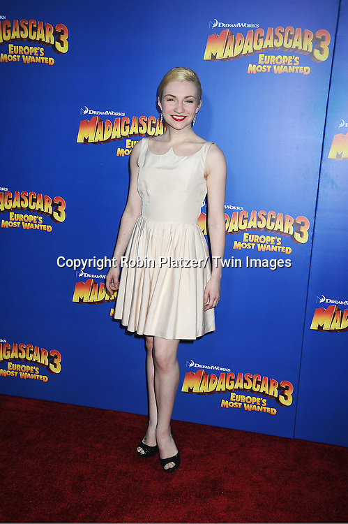 """Paloma Garcia Lee attends the """"Madagascar 3:  Europe's Most Wanted""""  New York Premiere on June 7, 2012 at The Ziegfeld Theatre in New York City."""