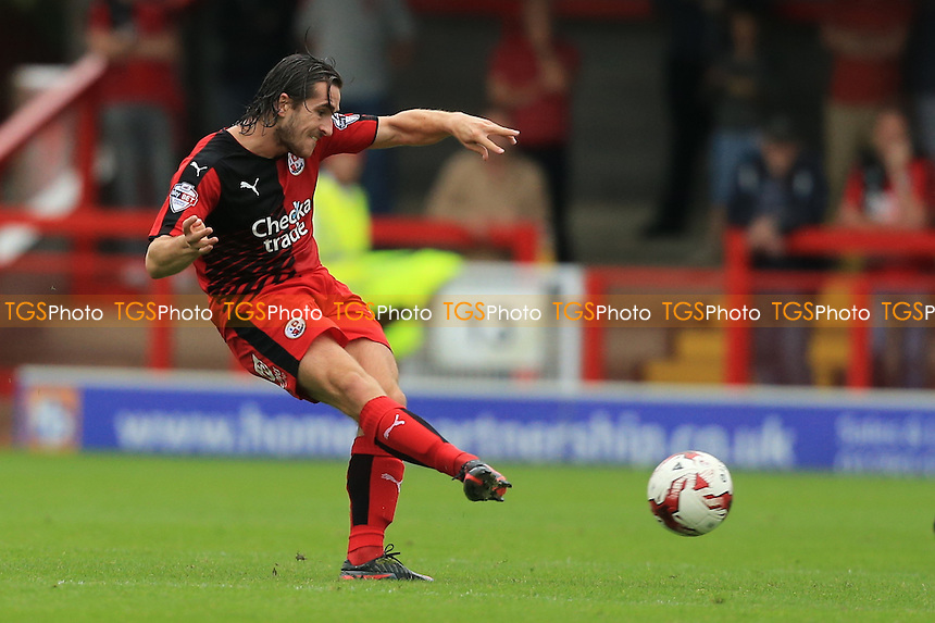 Luke Rooney of Crawley Town during Crawley Town vs Wycombe Wanderers, Sky Bet League 2 Football at Broadfield Stadium, Crawley, England on 29/08/2015
