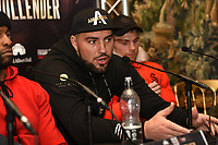 Razvan Cojanu during a Press Conference at The Gore Hotel on 6th March 2019