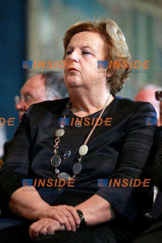 Anna Maria Cancellieri sonnecchia.Roma 30/10/2012 Quirinale. 150° anniversario della Corte dei Conti-..Photo Samantha Zucchi Insidefoto