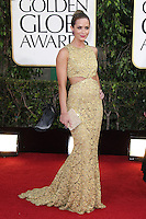BEVERLY HILLS, CA - JANUARY 13: Emily Blunt at the 70th Annual Golden Globe Awards at the Beverly Hills Hilton Hotel in Beverly Hills, California. January 13, 2013. Credit: mpi29/MediaPunch Inc. /NortePhoto