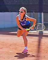 Netherlands, Rotterdam August 05, 2015, Tennis,  National Junior Championships, NJK, TV Victoria, Cato Tangkau<br /> Photo: Tennisimages/Henk Koster
