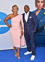 "LOS ANGELES, USA. April 08, 2019: Will Packer & Heather Hayslett at the premiere of ""Little"" at the Regency Village Theatre.<br /> Picture: Paul Smith/Featureflash"