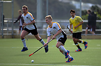 Action from the Wellington Hockey men's open grade premier two match between Northern United and Harbour City at National Hockey Stadium in Wellington, New Zealand on Sunday, 23 July 2017. Photo: Dave Lintott / lintottphoto.co.nz